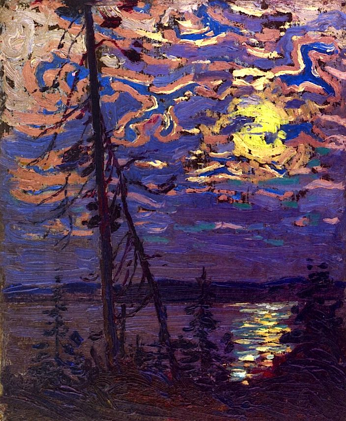 Moonlight Tom Thomson - 1915