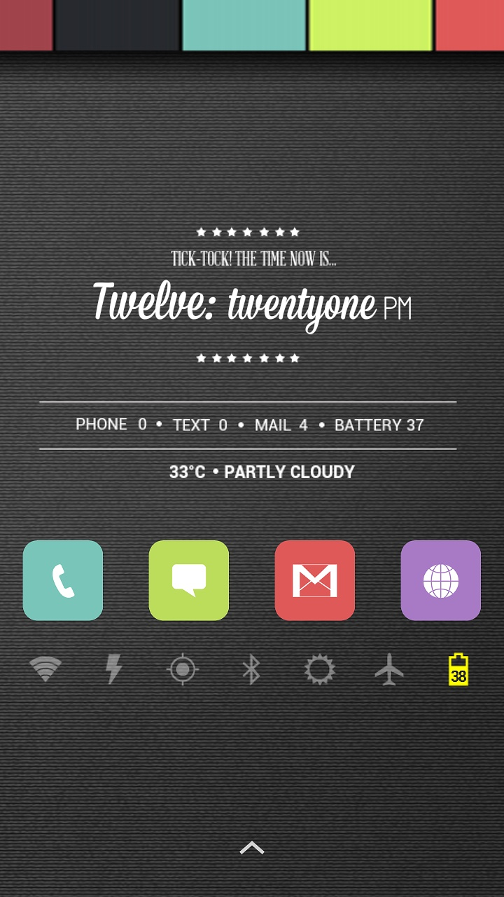 Color Pop Android Homescreen by fluffymix - MyColorscreen