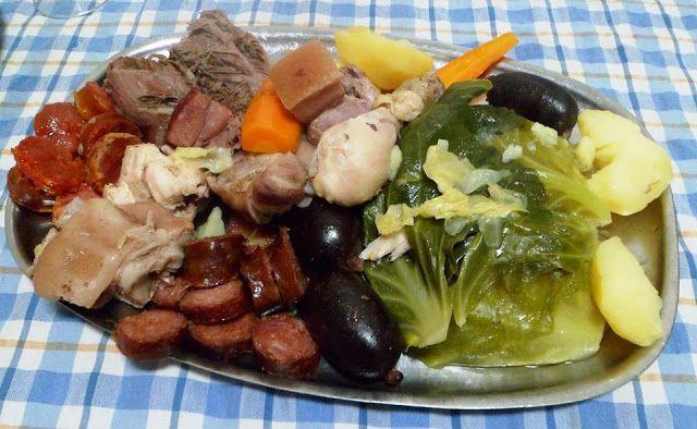 Receitas práticas de culinária: Cozido à Portuguesa