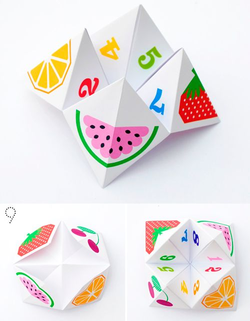 Оригами на тему детей