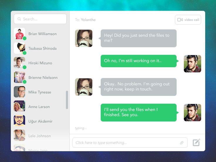 Desktop Chat App