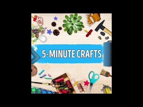 5 Minutes Crafts Compilation   Part 5 - YouTube