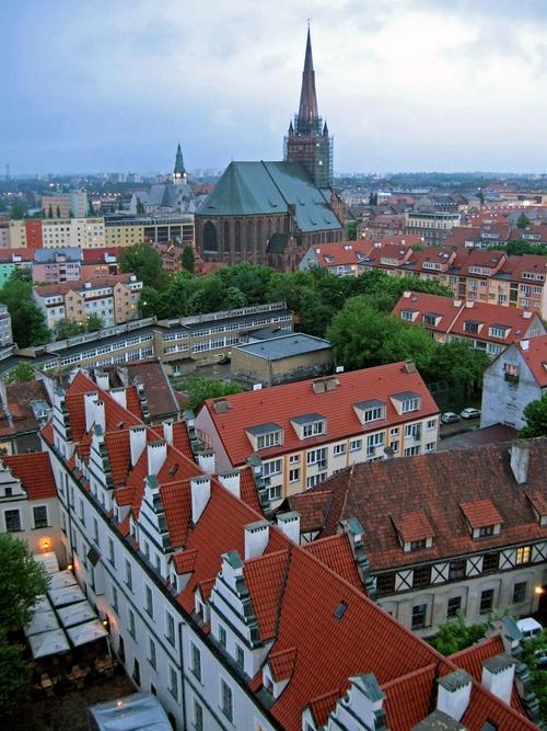 St. Jacobs Basilica in Szczecin, Poland