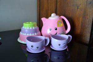 Jogo chá fisher price_ A importancia das panelinhas e representacao da realidade_ Brinquedos Parte 3_ Mini Cozinha