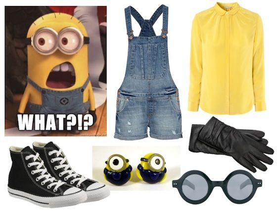 homemade pixar costumes   Mostly B's: Comedic – Minion from Disney Pixar's Despicable Me
