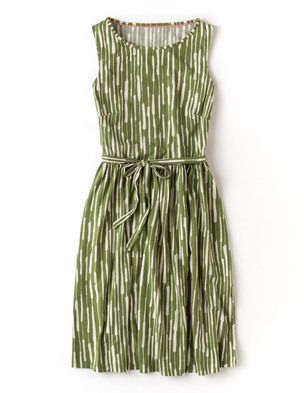 I've spotted this @BodenClothing Santorini Sundress Palm Painterly Stripe