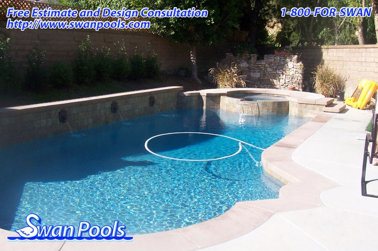 42 curated swan pools aesthetics cantilever coping ideas for Quality pool design