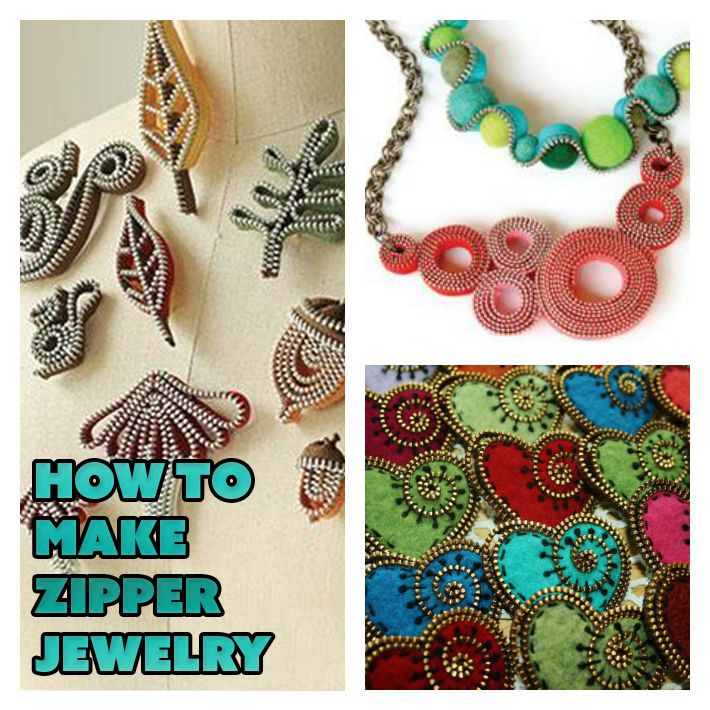 Incorporate zippers into your jewelry designs for an unexpected pop of color, texture and fun! These zipper jewelry patterns are perfect for practicing this trending technique.