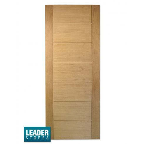 WoodDoor+ Internal Oak Palermo Contemporary Doors - In Stock, Next Day Delivery, Lowest Prices Anywhere!
