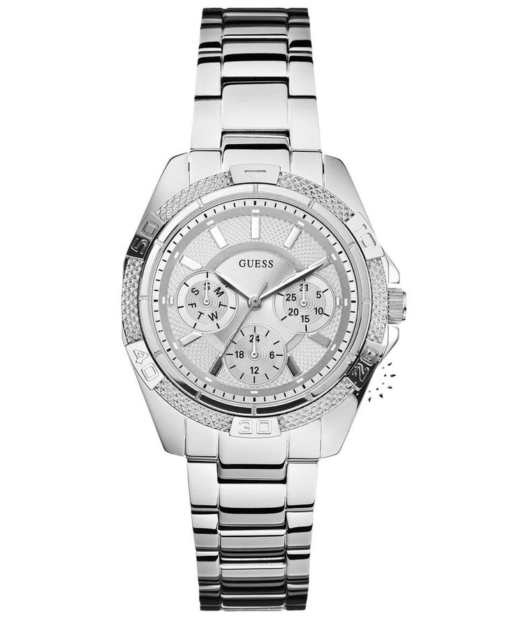 GUESS Crystal Ladies Multifunction Stainless Steel Bracelet Η τιμή μας: 169€ http://www.oroloi.gr/product_info.php?products_id=35134