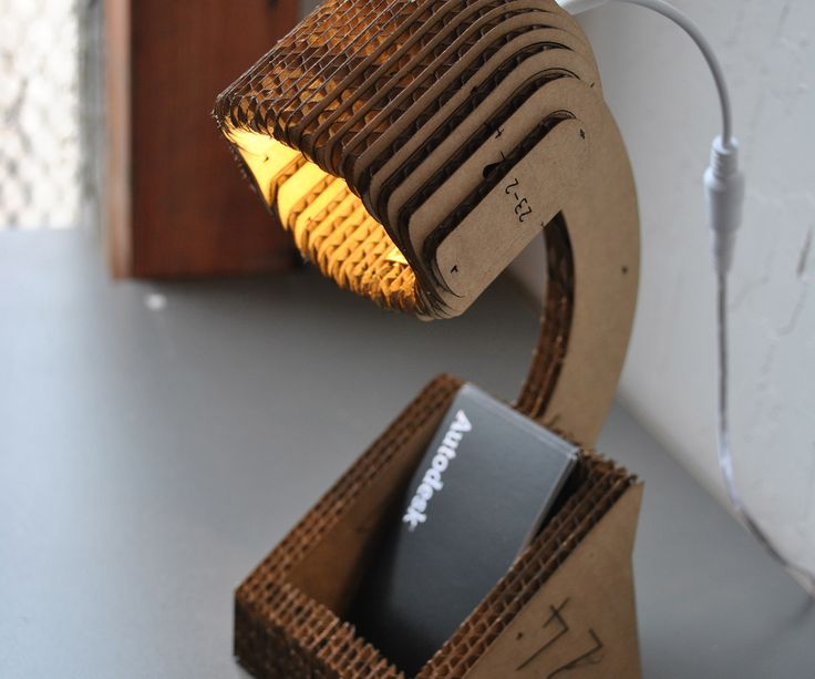 I created this desktop lamp because I was inspired by another one I saw on Instructables but wanted something a bit simpler in style and creation.Created with Autodesk Inventor, 123D Make http://123D Make and at TechShop http://techshop.ws