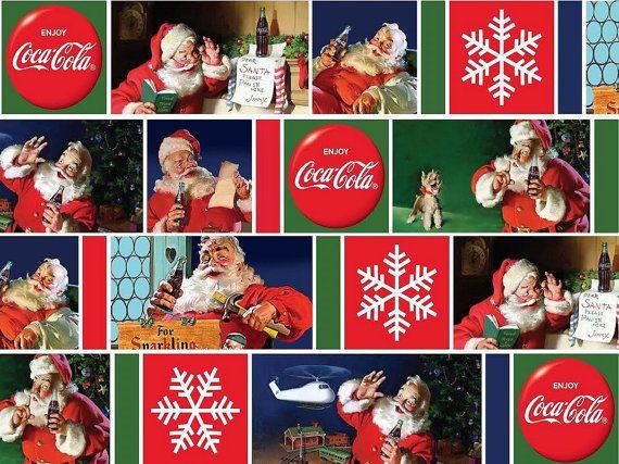 Coca-Cola Santas from Sykel Enterprises  Full by meanderingthread