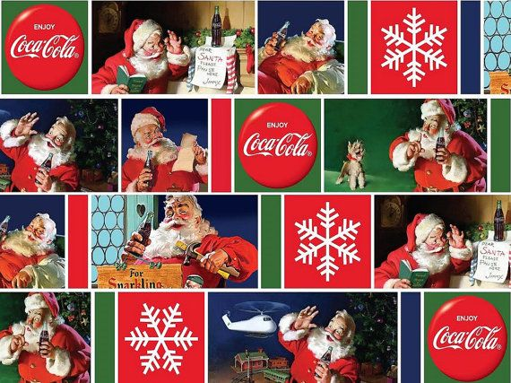 Coca-Cola Santas from Sykel Enterprises  Full by meanderingthread