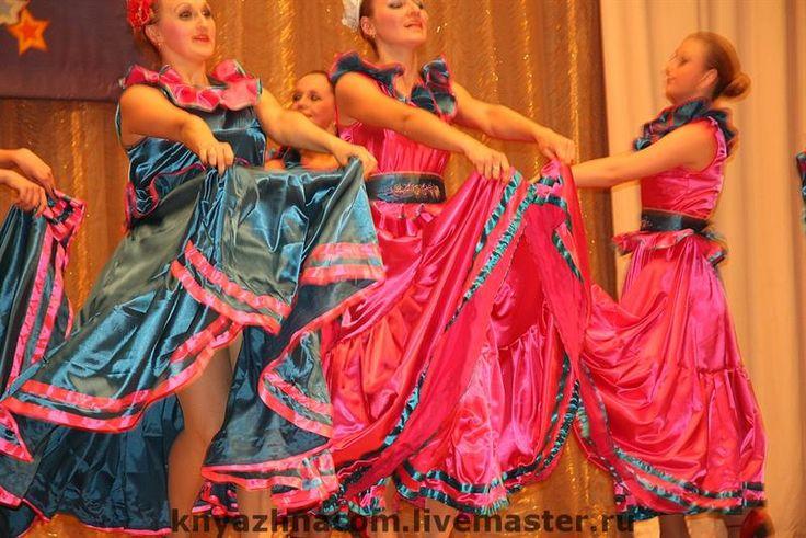 Описание танцевального мексиканского костюма