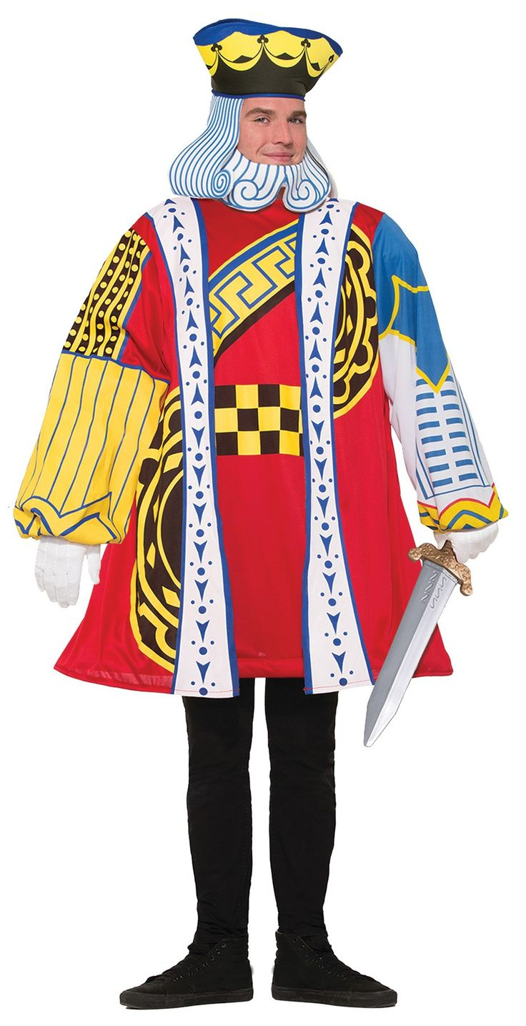 king of cards adult costume - Board Games Halloween Costumes