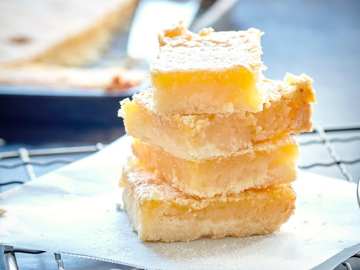 This Nici Wickes' lemon slice recipe is so deliciously chewy and using honey and fresh grated ginger in the topping gives it an amazing flavour. Perfect for winter days!