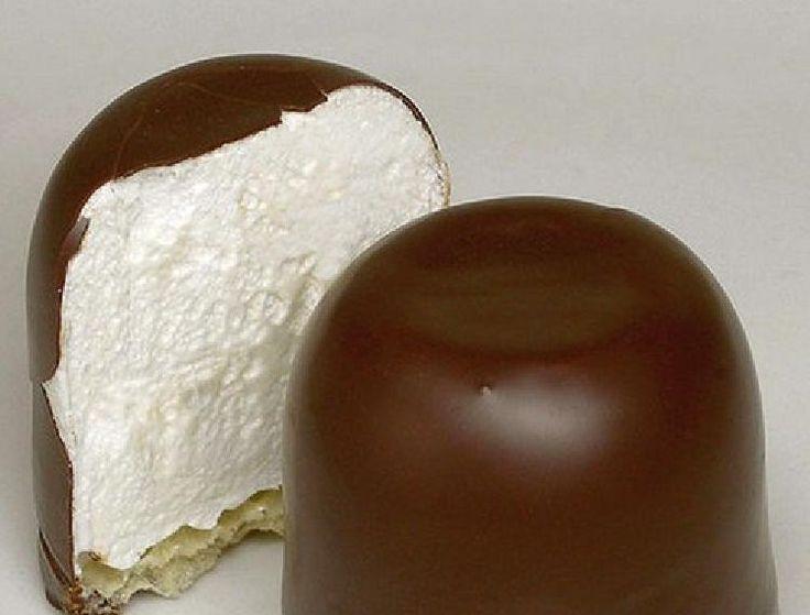 Pinitos de merengue bañados de chocolate!! Click en la foto para ver receta