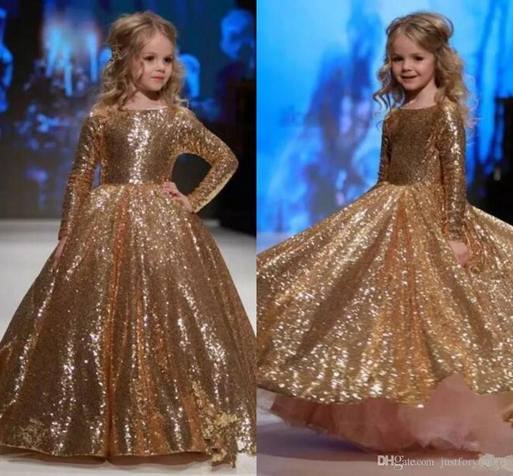 Sparkly Sequins Long Sleeve Girls Pageant Dresses 2018 Lovely Infant Toddler Little Princess First Communion Birthday Flower Girls Dress Long Sleeve Flower Girls Dress Communion Dress Pageant Girls Dress Online with $89.15/Piece on Justforyou001's Store | DHgate.com