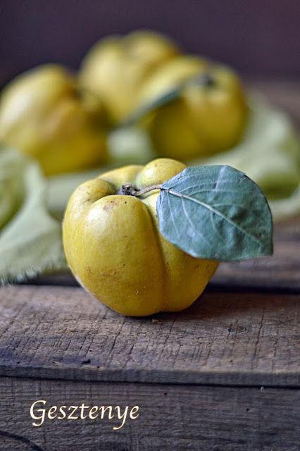 Gesztenye receptjei: Citromkrémes birsalma