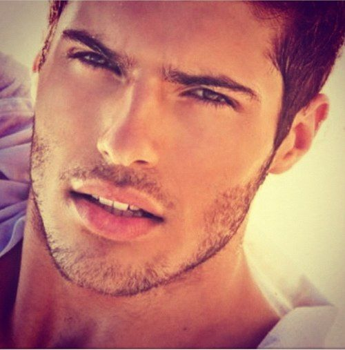 Those lips! That'll get you going in the morning--not that I'd ever leave the house... #yum