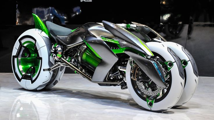 Akira, Tron, I don't care what pop reference you pick. The new Kawasaki J Three Wheeler EV—presented today at the Tokyo Motor Show 2013—is absolutely insane. And the way you ride this amazing thing is even crazier. Check it out in Sport Mode: