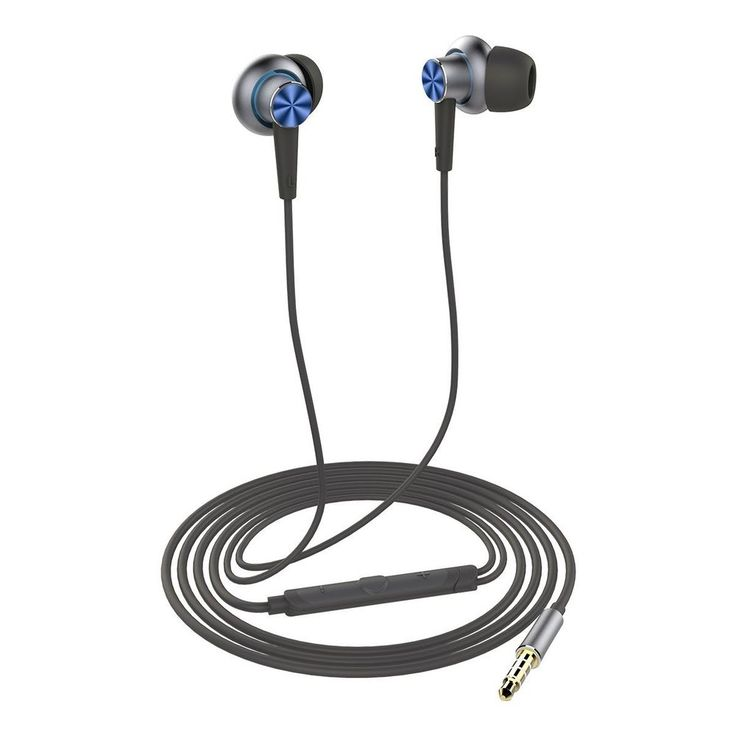 Durable Noise Cancelling Earbuds With Microphone Noise Isolating Volume Control #ROCK