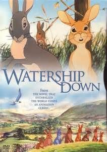 watership down movie - This movie is NOT the sweet happy rabbit cartoon you'd expect.  But it is worth reading the book and seeing this movie.