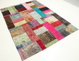 Patchwork matta RZZD50 238x174 från Turkiet - Köp dina mattor hos CarpetVista