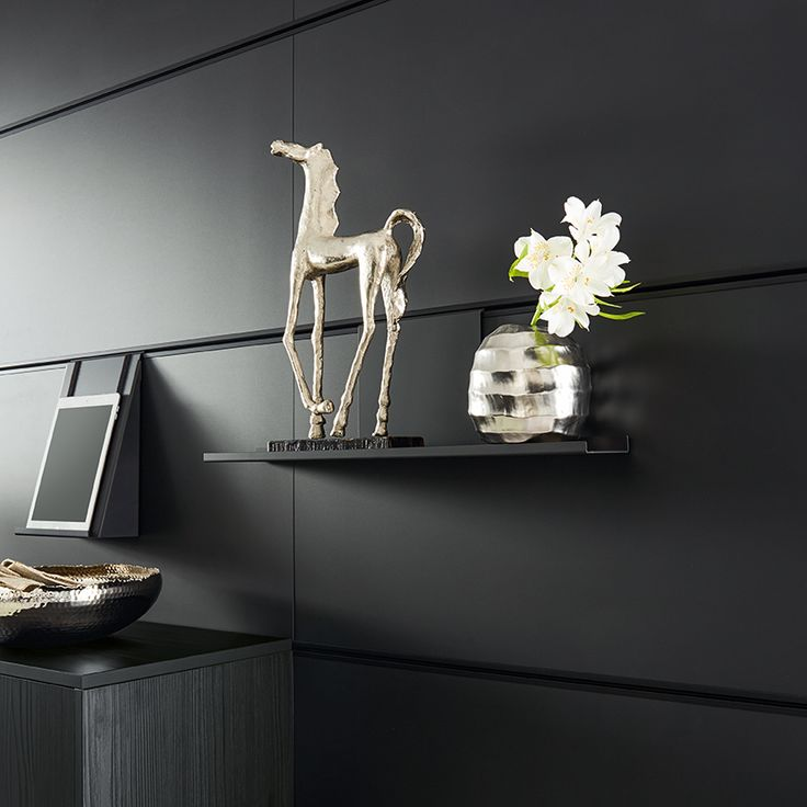 schüller wall panel system  stylish storage for the