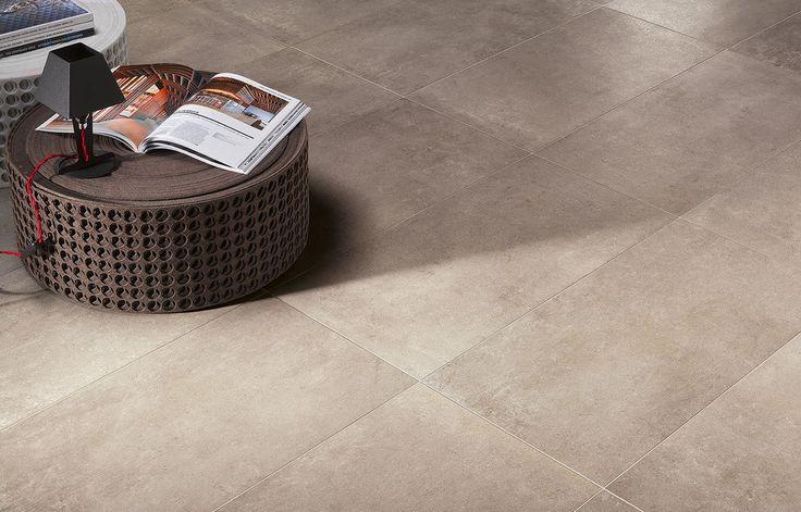 #Flaviker #Urban Concrete Nut 60x60 cm UC6044   #Feinsteinzeug #Steinoptik #60x60   im Angebot auf #bad39.de 22 Euro/qm   #Fliesen #Keramik #Boden #Badezimmer #Küche #Outdoor
