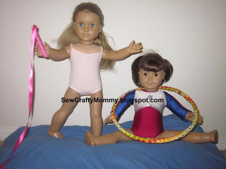Sew Crafty Mommy: American Girl Gymnastics accessories