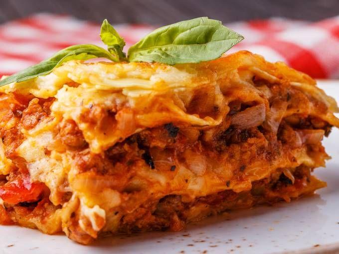Leckere Bolognese-Lasagne