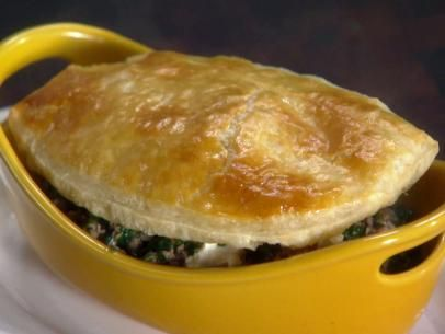 Greek Diner Meat and Spinach Pot Pies