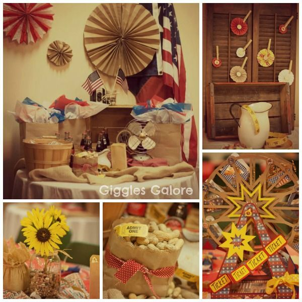 Vintage County Fair Party