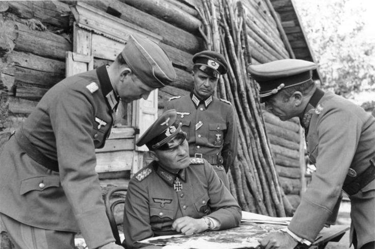 "General Erich Hoepner, ""The Old Cavalryman"" commander 4th Panzer Group, Army Group North, Soviet Union Summer 1941."