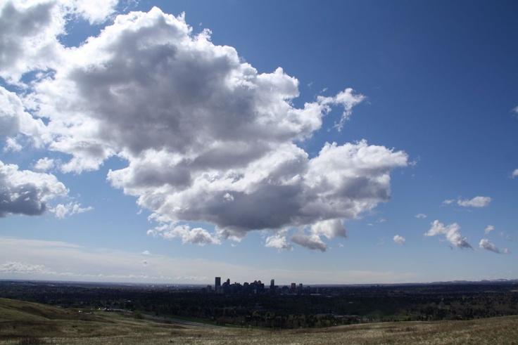 Above Calgary, Canada