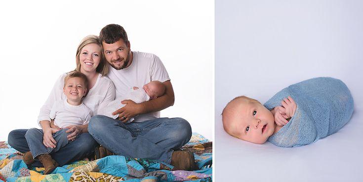 Melanie runsick photography jonesboro arkansas newborn photographer newborn family session
