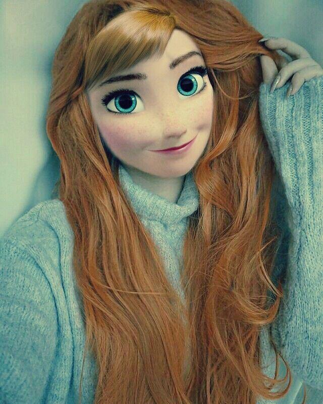 #Anna #frozen #annainrealife #myedit
