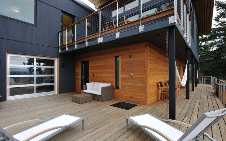 Jondesign 39 s smoothgallery demo architecture pinterest for Garage under deck