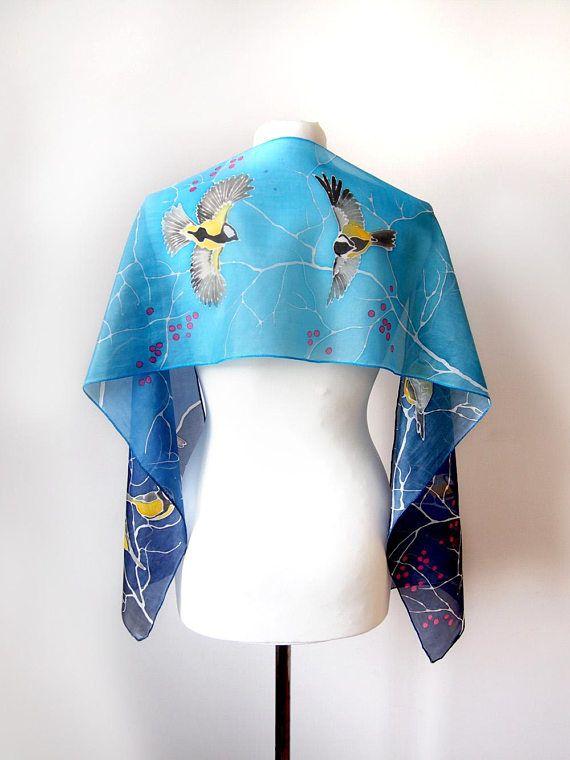 Cashmere Silk Scarf - Siren Cashmere Silk by VIDA VIDA rLjqSzWhb