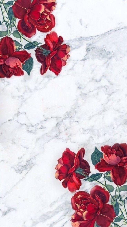 Pinterest Red Marble Wallpaper