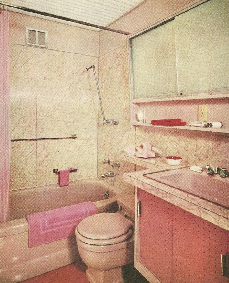 1960s Bathroom Design Ideas ~ Best s bathroom images on pinterest