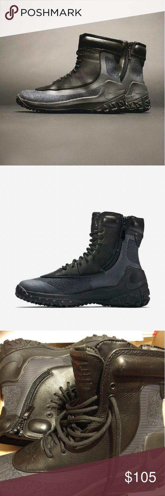 Women's Nike Zoom Kynsi Jacquard Waterproof Boots New Women's Nike Zoom Kynsi Jacquard Waterproof Boots Nike Shoes Winter & Rain Boots