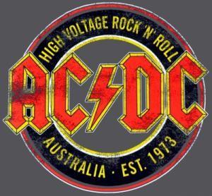 T-Shirt Mec AC/DC - High Voltage Australia - T-Shirts - Rock A Gogo