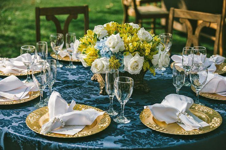 decoração de casamento - azul e amarelo - revista icasei (20)