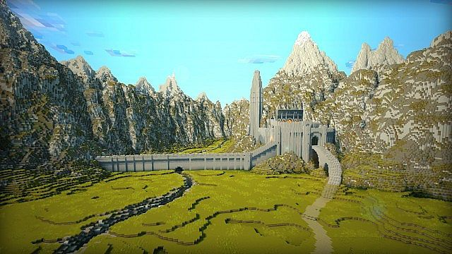 MINECRAFT MIDDLE EARTH Minecraft Server. Its Helms deep!!