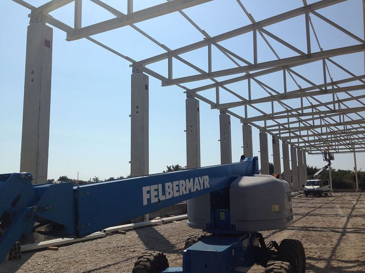 Production Hall Prolyte Industry - Steel Structures Buildings - Duna-steel.ro