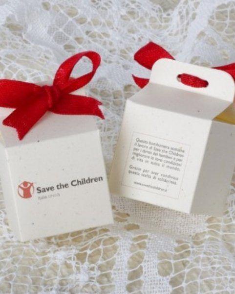Bomboniere solidali, save the children The Wedding Italia