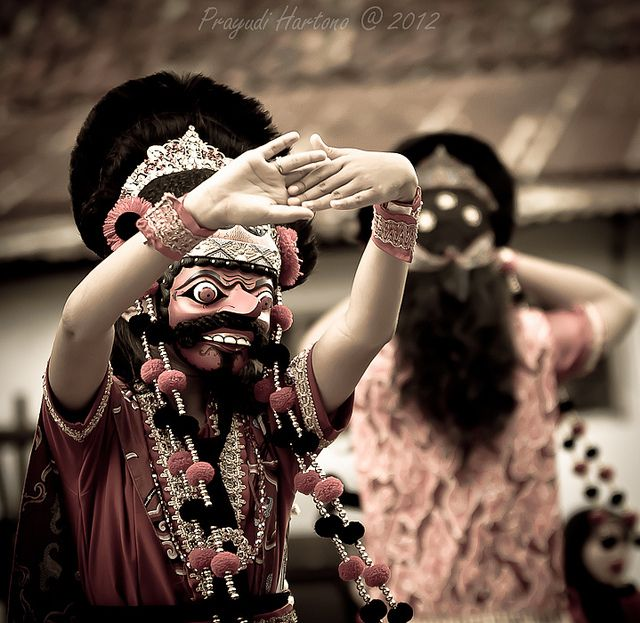 Cirebon Mask Dance   Flickr - Photo Sharing!