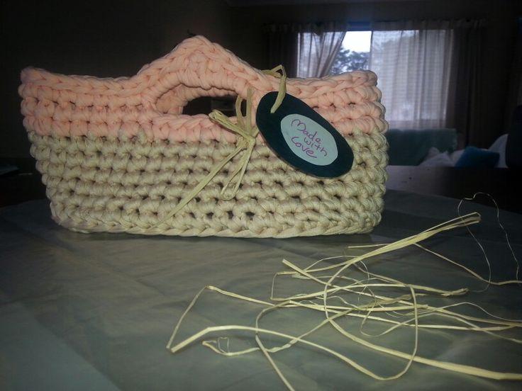 Basket trapillo cesto para pañales